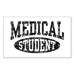 Medical Student Sticker (Rectangle)