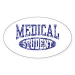 Medical Student Sticker (Oval)