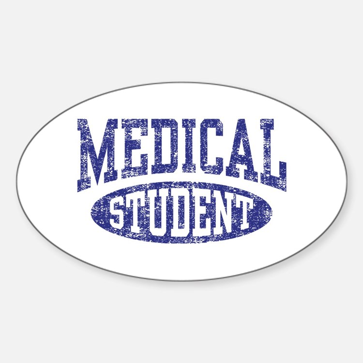 Medical Student Sticker (Oval)