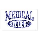 Medical Student Sticker (Rectangle)