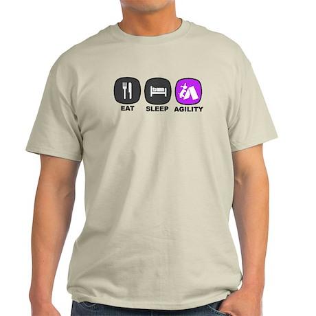 Eat. Sleep. Agility Light T-Shirt