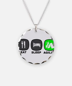 Eat. Sleep. Agility Necklace