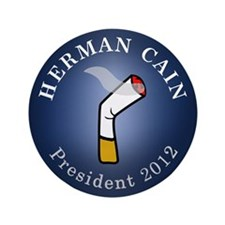 """Cain President 2012 3.5"""" Button (100 pack)"""