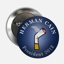 "Cain President 2012 2.25"" Button (10 pack)"