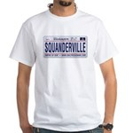 Squanderville White T-Shirt