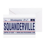 Squanderville Greeting Cards (Pk of 10)