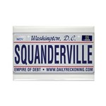Squanderville Rectangle Magnet (100 pack)