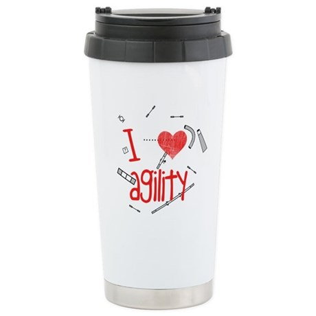 Agility Courses Stainless Steel Travel Mug