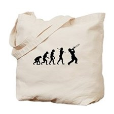 Evolve - Trombone Tote Bag