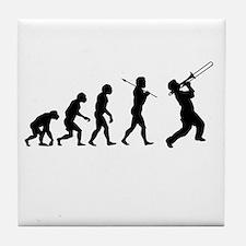 Evolve - Trombone Tile Coaster