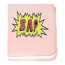'ZAP' baby blanket