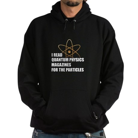For the particles Hoodie (dark)