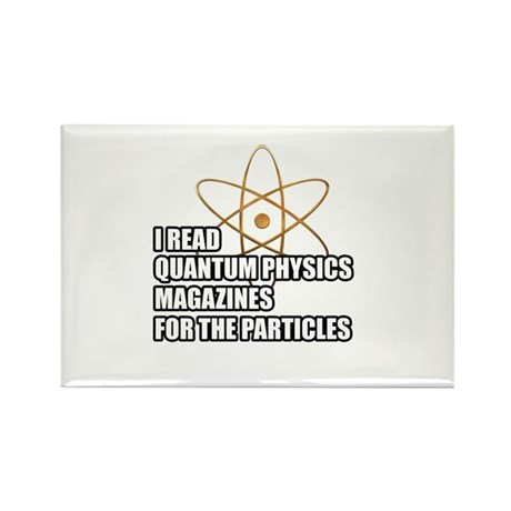For the particles Rectangle Magnet (10 pack)
