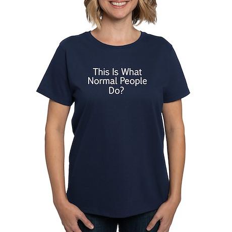 Normal People Women's Dark T-Shirt