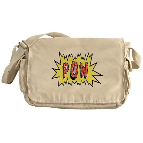 'POW' Messenger Bag