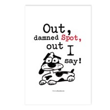 Out Damned Spot Postcards (Package of 8)