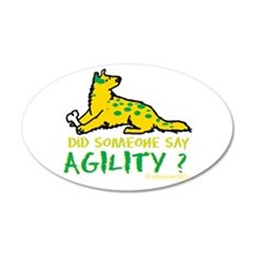 Did someone say Agility 35x21 Oval Wall Decal