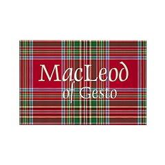 Tartan - MacLeod of Gesto Rectangle Magnet (10 pac