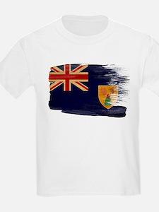 Turks and Caicos Flag T-Shirt