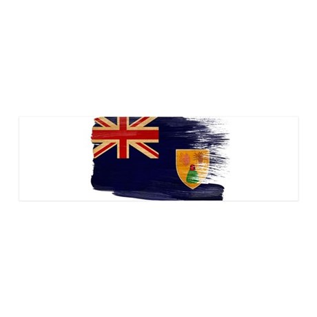 Turks and Caicos Flag 42x14 Wall Peel