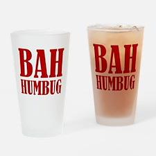 Bah Humbug Drinking Glass