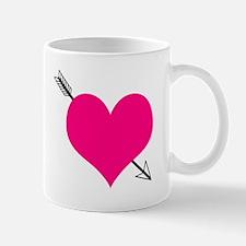 'Arrow Through The Heart' Mug