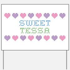 Sweet TESSA Yard Sign