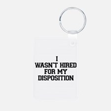 Disposition Keychains