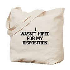 Disposition Tote Bag