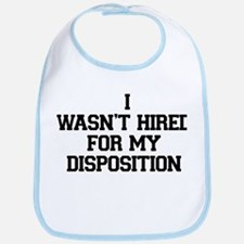 Disposition Bib