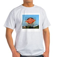 Grain Belt Sign Ash Grey T-Shirt