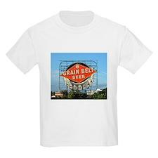 Grain Belt Sign Kids T-Shirt