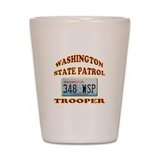 Washington State Patrol Shot Glass
