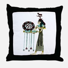 Egyptian Isis - Magical Throw Pillow