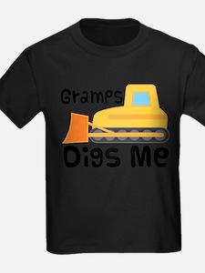 Love Gramps Bulldozer T-Shirt