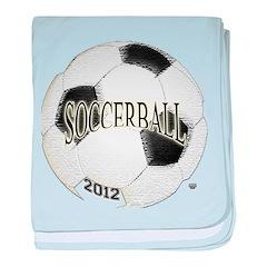 FootBall Soccer baby blanket