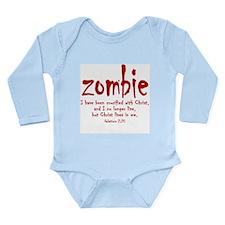 "New Generation ""Zombie"" Long Sleeve Infant Bodysui"