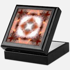 Unfire Square Mandala Keepsake Box