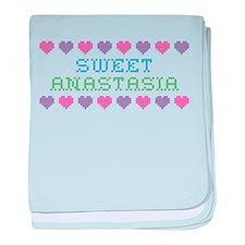 Sweet ANASTASIA baby blanket