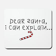 Dear Santa (version2) Mousepad