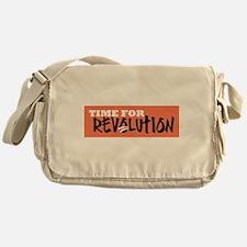 Time for Revolution Messenger Bag