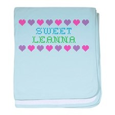 Sweet LEANNA baby blanket