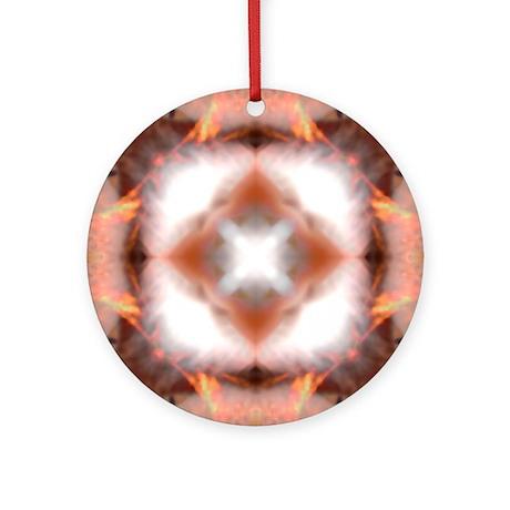 Unfire Square Mandala Ornament (Round)