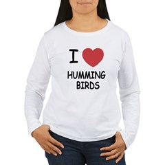 I heart hummingbirds T-Shirt