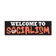 Welcome to Socialism Car Magnet 10 x 3