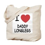 I heart daddy longlegs Tote Bag