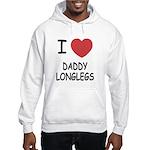 I heart daddy longlegs Hooded Sweatshirt