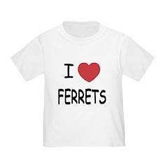 I heart ferrets T
