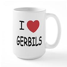 I heart gerbils Mug