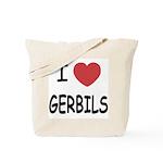 I heart gerbils Tote Bag